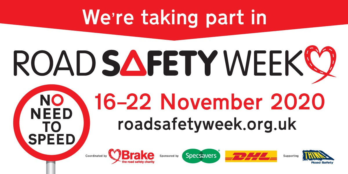 Road Safety Week 2020 take part sponsor logo