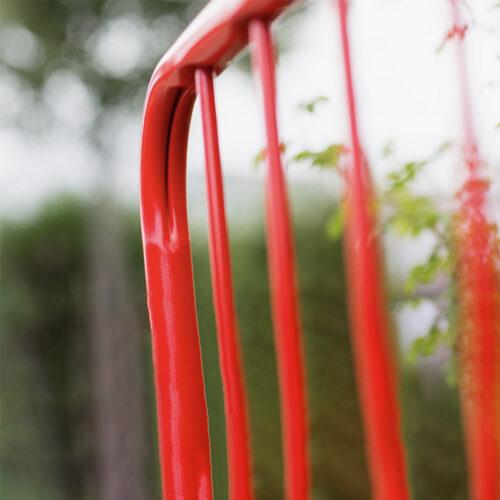 Walkthrough barrier frame