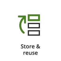 Storage and Reusable icon