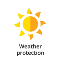 Weather protection icon