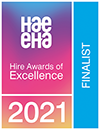 Hire Awards of Excellence finalist 2021 logo