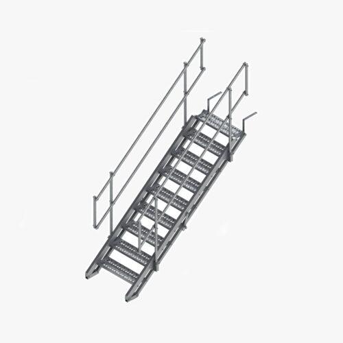 aluminium-stairway-plain